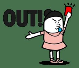 Swing Girl sticker #1161363