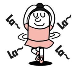 Swing Girl sticker #1161365