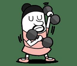 Swing Girl sticker #1161382
