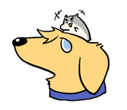Furry hamster and his fluffy friends sticker #1162517
