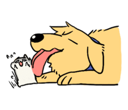 Furry hamster and his fluffy friends sticker #1162518