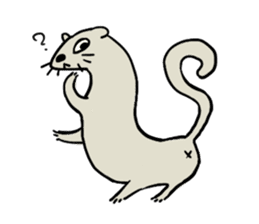 Furry hamster and his fluffy friends sticker #1162527