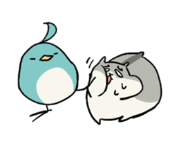 Furry hamster and his fluffy friends sticker #1162532