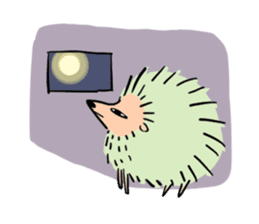 Furry hamster and his fluffy friends sticker #1162537