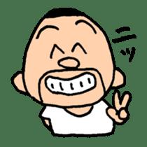 Masao Saitou sticker #1162840