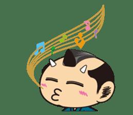 ONI SAMURAI sticker #1163668