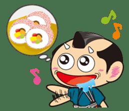 ONI SAMURAI sticker #1163670