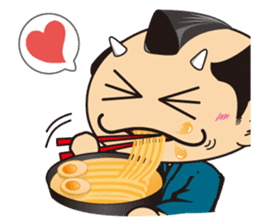 ONI SAMURAI sticker #1163672