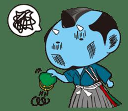 ONI SAMURAI sticker #1163675