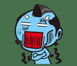 ONI SAMURAI sticker #1163676