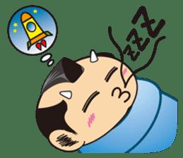 ONI SAMURAI sticker #1163681