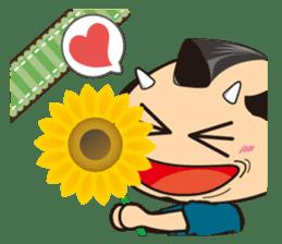 ONI SAMURAI sticker #1163683