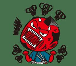 ONI SAMURAI sticker #1163691