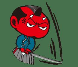 ONI SAMURAI sticker #1163692