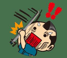 ONI SAMURAI sticker #1163695