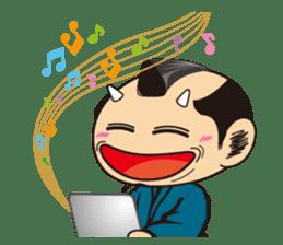 ONI SAMURAI sticker #1163704