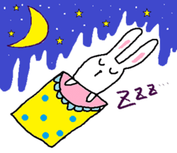 long long rabbit sticker #1163808
