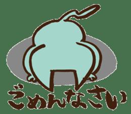 Newlywed in HOKKAIDO sticker #1164829