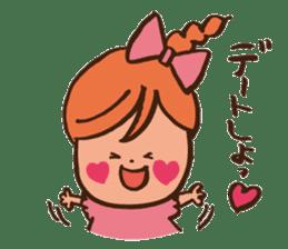 Newlywed in HOKKAIDO sticker #1164851