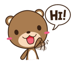 Choco-Bear sticker #1164986