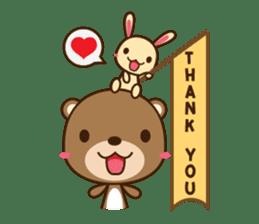 Choco-Bear sticker #1164994