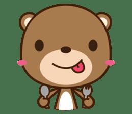 Choco-Bear sticker #1165011