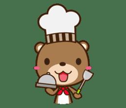 Choco-Bear sticker #1165013