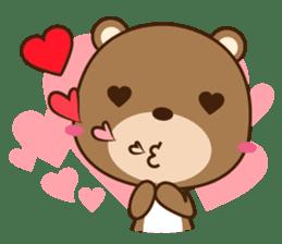 Choco-Bear sticker #1165016