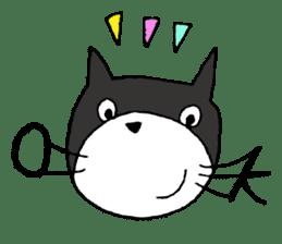 almighty cat tamakuro sticker #1165068