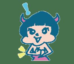 Wife devil sticker #1165757