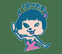 Wife devil sticker #1165761