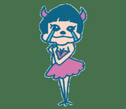 Wife devil sticker #1165775
