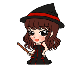 "StampGirl ""Cosplay"" sticker #1165842"