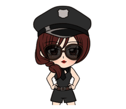 "StampGirl ""Cosplay"" sticker #1165846"