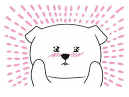 Xin Xin Maltese dog sticker #1166106