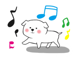 Xin Xin Maltese dog sticker #1166120