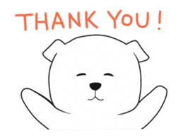 Xin Xin Maltese dog sticker #1166124