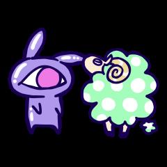 Monoeye rabbit