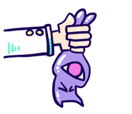 Monoeye rabbit sticker #1166301