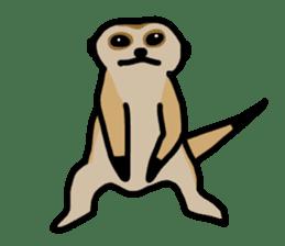 Meerkat sticker #1166739