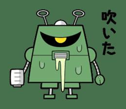 Cyborg Kuro-chan sticker #1167019