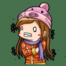 Tiny Architect Girl sticker #1167257