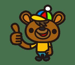 HAPITORY BEAR sticker #1167426