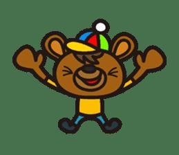 HAPITORY BEAR sticker #1167429