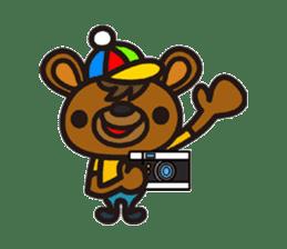 HAPITORY BEAR sticker #1167430