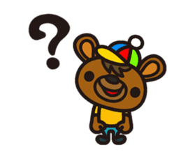 HAPITORY BEAR sticker #1167431