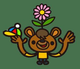 HAPITORY BEAR sticker #1167432