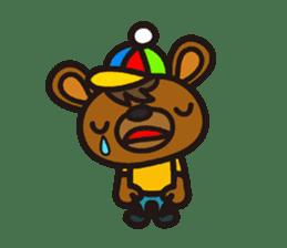 HAPITORY BEAR sticker #1167433