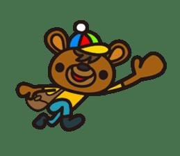 HAPITORY BEAR sticker #1167434