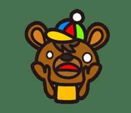 HAPITORY BEAR sticker #1167435